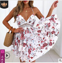 $enCountryForm.capitalKeyWord UK - new style Women's Night Club Sexy long Skirt Sexy back suspender waist lace dress new style explosive evening dress 2019 Holiday beach skirt