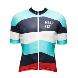 Chinese  2019 MAAP Cycling Clothing Short Sleeves Cycling Jersey Bike Mountain Racing clothes Mtb Maillot Ropa Ciclismo Hombre Bike shirt K060901 manufacturers