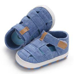 $enCountryForm.capitalKeyWord Australia - Baby newborn toddler boy girl sandals fashion solid color soft bottom slip summer cute baby shoes