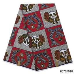 $enCountryForm.capitalKeyWord Australia - Latest Arrive African Wax Prints Fabric 6 Yards pcs 100% Cotton Dutch Real Wax wax hollandais High Quality Ankara African Batik Fabrics