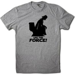 Pop Tees Australia - Use the Force Parody T-Shirt - FUNNY Pop Culture Potty Humor Summer Movie Tee. Men Women Unisex Fashion tshirt Free Shipping