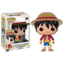One Piece Trafalgar Figure Australia - 4 styles Funko POP Anime: One Piece trafalgar law Vinyl Action Figure With Box #100 Popular Toy Gify gift