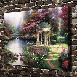 $enCountryForm.capitalKeyWord Australia - The Garden of Prayer Scenery,Home Decor HD Printed Modern Art Painting on Canvas (Unframed Framed)