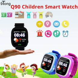 Lost Tracks Australia - Q90 GPS Smart Watch Smartwatch For Children WIFI GPS LBS Positioning Tracking Anti-lost Watch SOS Call Kids Watches PK Q50 #C1