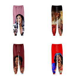 Gray cute fashion pants online shopping - Funny Cute d Printed Cardi B Fashion Hip Hop Men Women Joggers Pant Casual Long Loose Trousers D Fitness Pants Sweatpants XL