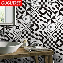$enCountryForm.capitalKeyWord Australia - Decorate home 3D ceramic tile cartoon art wall sticker decoration Decals mural painting Removable Decor Wallpaper G-931