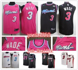 Wholesale 2019 NEW Cheap Miami CITY Heat dwayne wade jersey Dwyane Hassan Whiteside basketball jerseys