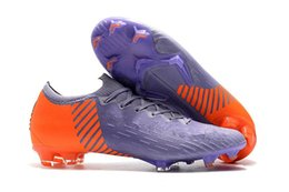 vapor cleats Australia - 2019 New Mens Low Ankle Football Boots CR7 Vapors Fury VII Elite FG Soccer Shoes Superfly VI 360 Neymar ACC Soccer Cleats