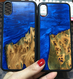 Fancy phones cases online shopping - 2019 Newest Hot Design Wood Resin Mobile Phone Cases For Iphone Plus Eco friendly Wooden Resin Fancy Back Shell Factory