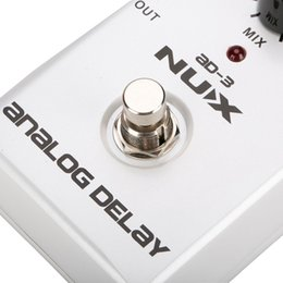 Echo Pedals Australia - NUX AD-3 Guitar Effects Pedal Analog Delay Effect Low Noise BBD Delay Circuit 20-300ms Delay time Warm and Smooth explorer guitar