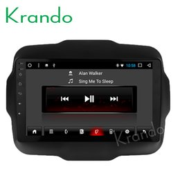 "Touch Video NZ - Krando Android 8.1 10.1"" IPS Big Screen Full touch car dvd Multimedia system radio player for JEEP Renegade 2015+ video gps BT wifi"