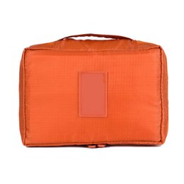 Nylon Zipper Women Makeup bag Cosmetic bag Case Make Up Organizer Toiletry  kits Storage Travel Portable Makeup tool afe1f9996e2b4