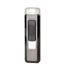 $enCountryForm.capitalKeyWord UK - New Mini Colorful Plastic USB Cyclic Charging Lighter Windproof Portable Innovative Design For Cigarette Bong Smoking Pipe DHL