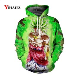 tracksuit 3d mens Australia - Mens New 3D Sweatshirt Harajuku Z Anime Hoodies Graphic Print Pullover Tracksuit Pocket Tops