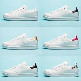 $enCountryForm.capitalKeyWord Australia - Designer shoes Chaussures stan for Mens smith flats shoes Red Blue Silver triple white black womens sneaker Outdoor Casual shoes size 36-45