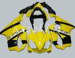 Custom Body Honda Cbr Australia - 3Gifts New Injection ABS Fairing kits Fit for HONDA CBR 600 F4i fairings 2001 2002 2003 CBR600 FS F4i body 01 02 03 custom yellow black