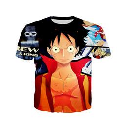 $enCountryForm.capitalKeyWord Australia - 2019 Hot Casual 3D priting tee shirt homme Anime men t shirt Funny t shirt harajuku streetwear Hip hop One Piece t shit