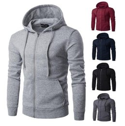 hoodie latest NZ - 2019 Latest model Men Hoodies Pullover Hoody Sweatshirts Long Sleeve Muscle Slim Casual Tops Fall Sport Gym Shirt Hooded Jumper Sweaters