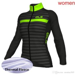 Cycling women s online-Maillot de ciclismo 2018 Mujeres nuevo equipo ALE  Invierno Manga Larga e682132a9