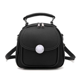 Ladies Grey Backpack Handbag Australia - Backpack Fashion Sweet Ladies Shoulder Bag Women Handbags Ladies Bag Women Small Shoulder Backpacks Package Mini Bags