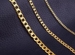 $enCountryForm.capitalKeyWord Australia - Men Women Gold Plated Hip Hop Necklace Copper Cuba Chain 3mm 5mm 8mm Gold Cuban Rope Chain Necklace Fashion Jewelry Whosales