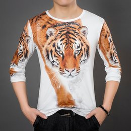 $enCountryForm.capitalKeyWord Australia - Men's Wear Young Ethnic Costume Long Sleeve T Pity Tiger Garment