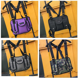 chest bag hiking Canada - Fashion Women Daypack Outdoor Sling Chest Bag Daypack Nylon Backpacks for Men Women Fashion Travel Crossbody Bags Backpack Pouch M297Y