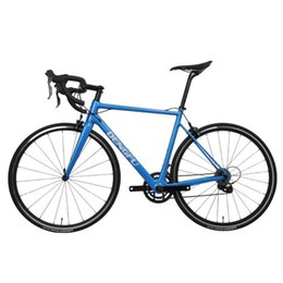 bike complete NZ - WINICE Clearance 700C Road Bicycle V-Brake Blue Complete Cycling Carbon Fiber Frame R02 Bikes 700C*21mm Tire
