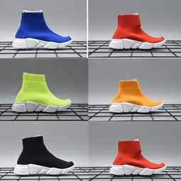 Chinese  Fashion Baby Kids Shoes Socks Boots Children Slip-On Casual Flats Speed Trainer Sneakers Boy Girl High-Top Running Shoes size us26-35 manufacturers