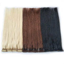 Großhandel Neue Produkte Kundenspezifische Farbe 6D Haarverlängerungen für Fast Pre Conded Hair High End Connection Technology 100% Remy Human Hair Schnellabnutzung