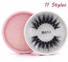 Silk False Eyelashes Australia - 1 Pair Silk Fiber False Eyelashes 2019 Crisscross 3d Hair Fake Eye Lashes Natural Eye Makeup Tools 11 Styles
