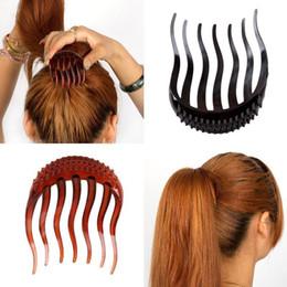 $enCountryForm.capitalKeyWord Australia - 1PCS Magic Woman Hair Styling Tools Ponytail Increase Headwear Disc Organ Hair Fluffy Braider Disc