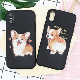 $enCountryForm.capitalKeyWord NZ - Applicable new iphone xs max mobile phone case Cute cartoon painted soft shell iphone 6s 7plus matte apple phone case