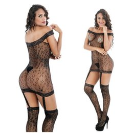 cosplay pantyhose 2020 - 8121 Women Black Cheetah Leopard Cosplay Sexy Panties Body Stocking Lingerie Pantyhose cheap cosplay pantyhose