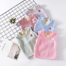 $enCountryForm.capitalKeyWord Australia - 2019 Winter Children Baby Fur Vest Waistcoat Kids Vest Toddler Baby Fleece Vest for Boy Girl Cloth Jacket Sleeveless Coat