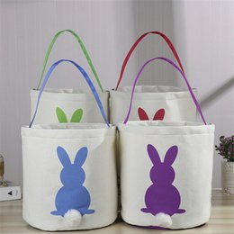 Handbag Materials NZ - Easter bag Reticule Popular Handbag Linen-cotton qualitative material Rabbit pictures with Cotton-tai Cute tote bag Free shipping
