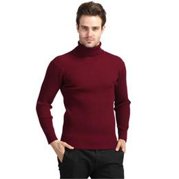$enCountryForm.capitalKeyWord UK - Winter Thick Warm Sweater Men Turtleneck Brand Mens Sweaters Slim Fit Pullover Men Knitwear Double Collar