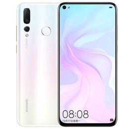 "Wholesale Original Huawei Nova 4 4G LTE Cell Phone 8GB RAM 128GB ROM Kirin 970 Octa Core Android 6.4"" Full Screen 48.0MP Fingerprint ID Mobile Phone"