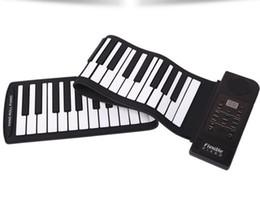 61 Key Piano Australia - Hand roll piano 61 key folding piano thickening with hand-feeling portable roll piano