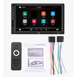 7inch screen phone NZ - 7Inch N6 HD Capacitive Screen Car MP5 Host for Car Play Mobile Phone Integrated Player Stereo Full Touch Screen