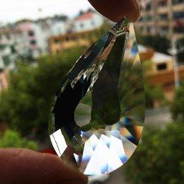 Freeshipping 50pcs 50mm Forma araña de cristal colgantes Claro facetadas de cristal de diamante Suncatcher hermoso ornamento colgante Decoración en venta