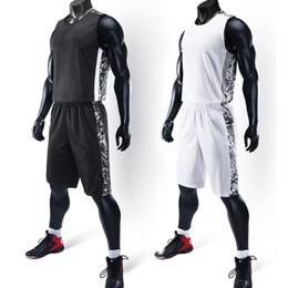 $enCountryForm.capitalKeyWord Australia - Youth Cheap College Basketball Jerseys 2018men Boys Breathable Custom Basketball Uniforms Shirts Shorts Set White Black Big Size SH190629