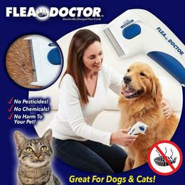 Pulga Médico Pente Elétrico Piolhos Cabeça Pente, Cabeça Piolhos Remoção Pet Limpeza Ferramenta de Captura Cães Gatos em Promoção