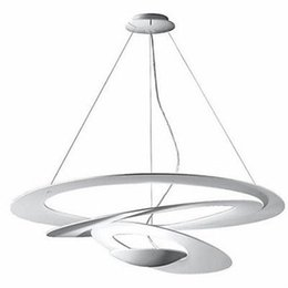 China Modern White Acrylic Pendant Lights Bar Suspension Hanging LED Lamp for Living Room Dinning Room Bedroom Home Lighting B076 suppliers