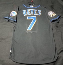 $enCountryForm.capitalKeyWord Australia - Cheap MAJESTIC NEW YORK #7 JOSE REYES COOL BASE SHEA PATCH Jersey Mens Stitched Wholesale Big And Tall SIZE XS-6XL baseball jerseys