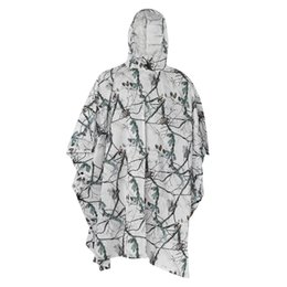 Discount black rain clothing - Hunting Ghillie Suits Snow Bionic Camouflage Hunting Tactical Fishing Clothing Photography Wild Snow Ghillie Suits Rain