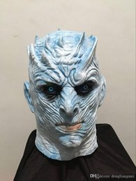 $enCountryForm.capitalKeyWord Australia - Halloween props Night King COS Power Game Ice and Fire Song Stage Props Ghost King Night King Mask wn687B 10pc