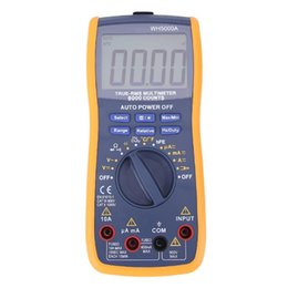 $enCountryForm.capitalKeyWord NZ - Freeshipping WH5000A Magnet Digital Multimeter 5999 Counts Auto Range with Backlight Magnet Hang AC DC Ammeter Voltmeter Ohm Tester