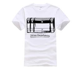 f3609c898 New Summer Men's Casual Print T-Shirt Fashion Pirate Encyclopedia Quality  Men Printing Short Sleeve O Neck t-shirt for women