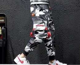 $enCountryForm.capitalKeyWord Australia - 2019 brand new M-5XL Men's casual trousers overalls leggings pants camouflage Hallen Bar DJ hairdresser Costume singer Stage Nightclub